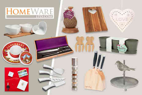 Homeware - Voucher to spend on home and giftware - Save 67%