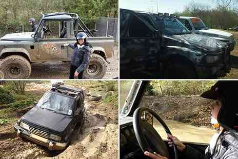 Mud Dog Off Road - Off road driving experience - Save 73%