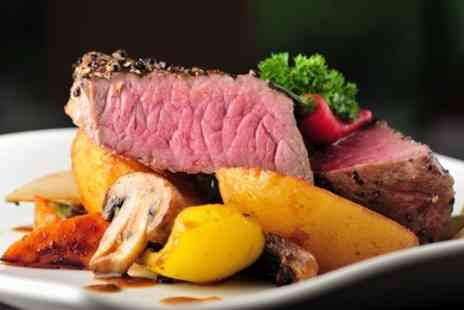 Kings Restaurant - Steak Meal For Two With Wine - Save 36%