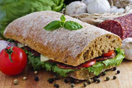 The Boot Inn - Rustic lunch for 2 including ciabatta - Save 62%