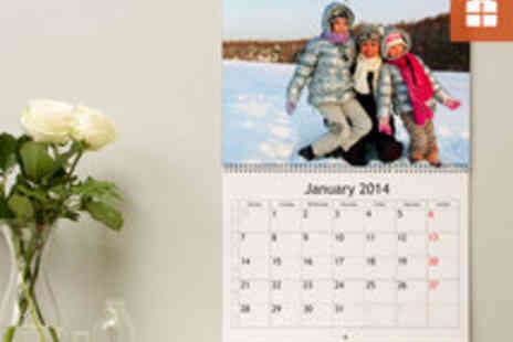 Albelli - Voucher for a Customised Premium Calendar in a Choice of Sizes - Save 52%
