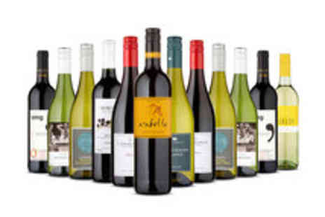 Naked Wines - Voucher for a Mixed Case Featuring 12 Select Bottles of Wine - Save 60%