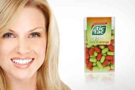 Mahahome.com - Packs of 100 Lime and Orange Tic Tacs - Save 50%
