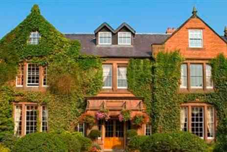 Nunsmere Hall Hotel - Cheshire Country House Stay with five Course Dinner & Fizz - Save 39%