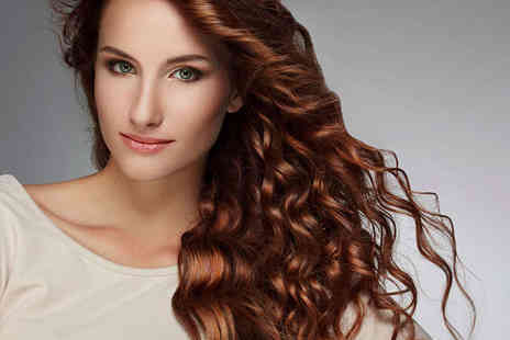 Glamour - Haircut and Blow Dry with Full Head of Colour  - Save 51%
