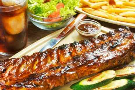 TW Foxtrot Oscar - Spare Ribs and Unlimited Chips For Two - Save 58%
