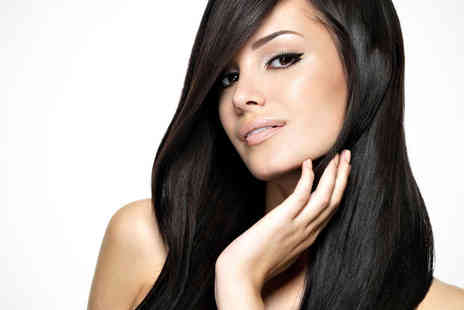 Blush Hair & Beauty - Nail File and Polish and Re Style Haircut and Blow Dry - Save 56%