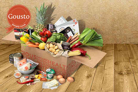Gousto - One week Gousto subscription including 3 chef designed meals for 2 people - Save 50%