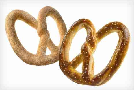 Auntie Annes - Oven baked pretzels freshly made on the premises - Save 50%