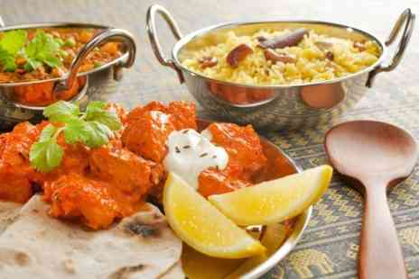 Voujon - Three Course Indian Meal With Rice For Two - Save 50%