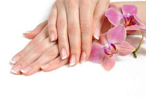 Nail Xpressions - Express Manicure or Pedicure  - Save 53%