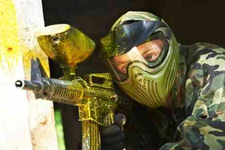 Warzone Paintball - Experience With Ammo and Hot Lunch - Save 50%