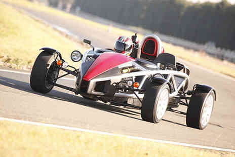 Atom Xtreme - Two driving laps in an Ariel Atom car - Save 67%