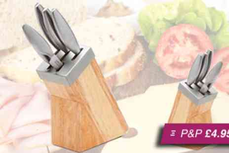 Garden Games - K Pro stainless steel knife set - Save 76%