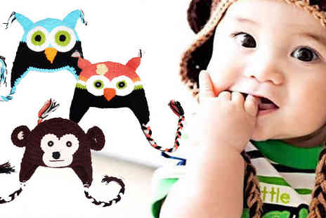 Flutterby Glam - Kids crocheted character hats - Save 85%