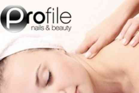 Profile Nails and Beauty - 12 Dermalogica Facials or 12 One Hour Aromatherapy Massages - Save 67%