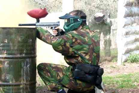Project Paintball -Paintball Session With 100 Rounds and Light Lunch For Two - Save 50%