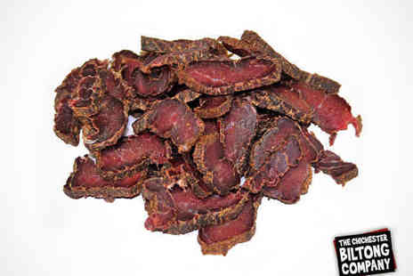 The Chichester Biltong Company - Four Bags of Finest Biltong Protein Snack - Save 50%