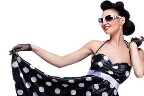 Envy London - 1950s Vintage MAC Makeover Photoshoot With Print - Save 90%