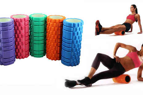 Livmore - Deep tissue massage roller - Save 69%
