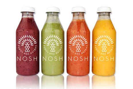 Nosh Detox Delivery - Three day juice fast plan - Save 51%
