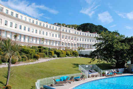 Osborne Hotel - One Night Torquay Hotel Stay for Two People with Breakfast - Save 56%