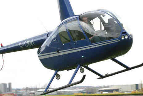 Hields Aviation - Helicopter Taster Flight - Save 42%