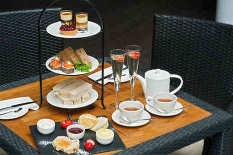Thistle Hotel Plc - Afternoon tea for 2 including a glass of bubbly  - Save 50%