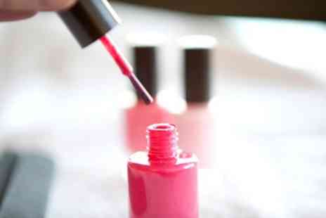 I Bar - Shellac Manicure or Pedicure - Save 57%