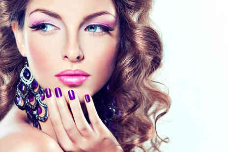 Wags Hair - Shellac manicure and pedicure plus a full body St Tropez spray tan - Save 73%