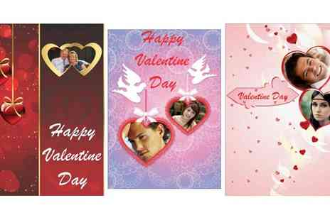 Spicy Decor - Personalised Valentines Day Card - Save 40%
