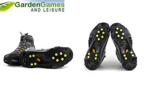 Garden Games - Ice Grips for Your Shoes - Save 46%