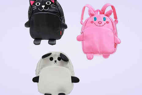 Flutterby Glam - Children's Animal Backpack in Choice of Three Designs - Save 65%