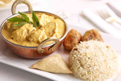 AlBani Spice - Two course Indian meal for 2 including starter main rice naan and tea or coffee - Save 53%