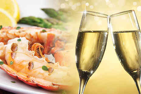 Truc Vert - Lobster and Champagne for two - Save 57%