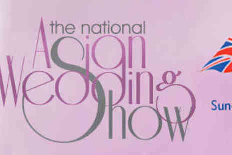 The National Asian Wedding Show - Two Tickets to The National Asian Wedding Show - Save 58%