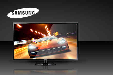 TVs and More - Black Samsung Slim 32 LED TV and built in Freeview - Save 43%