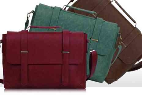 Groupon Goods Global GmbH - Fashion Satchel Bag In a Choice of Colour - Save 66%