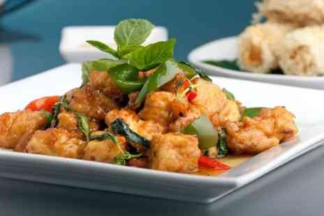Thai Orchid - Two Course Meal For Two - Save 53%