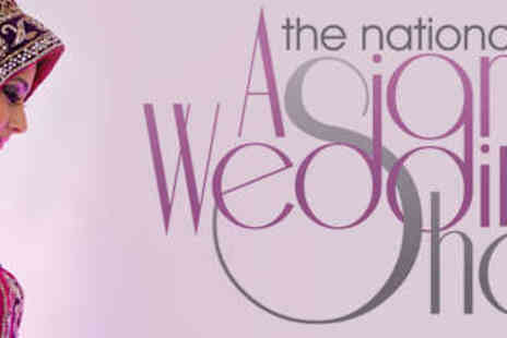 The National Asian Wedding Show - Two Tickets to The National Asian Wedding Show - Save 56%