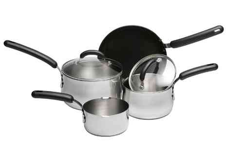 debenhams - Meyer Meter Four Piece Curved Pan Set - Save 70%