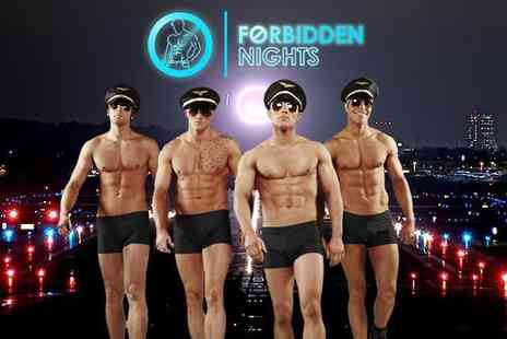 Forbidden Nights - Ticket to the Show including cocktail & VIP club entry - Save 58%