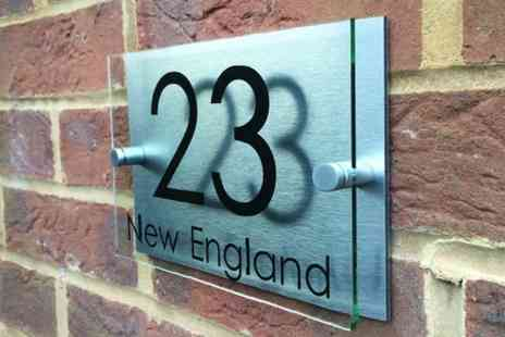 UK Sign Shop - Personalised House Sign - Save 50%