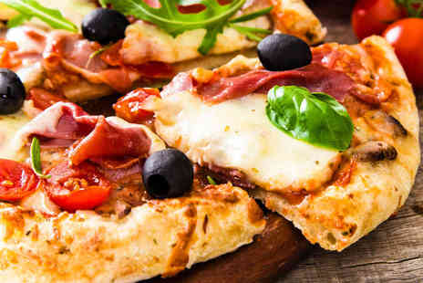 Al Forno - Pasta or Pizza and a Glass of Prosecco Each for Two People with a Salad to Share - Save 51%