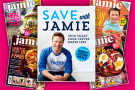 Jamie Magazine - Voucher for an Annual Subscription to Jamie Magazine with Cookbook - Save 55%