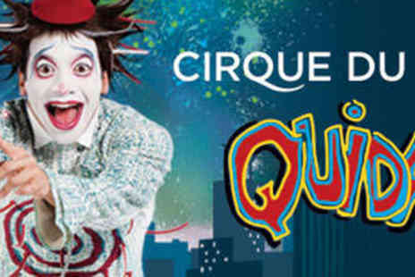 Cirque du Soleil - Ticket to the Royal Albert Hall - Save 20%