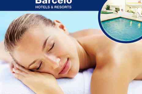 Beauty Rooms & Health Club at Barcelo Edinburgh Carlton Hotel - £25 Spa Day with choice of treatment - Save 58%