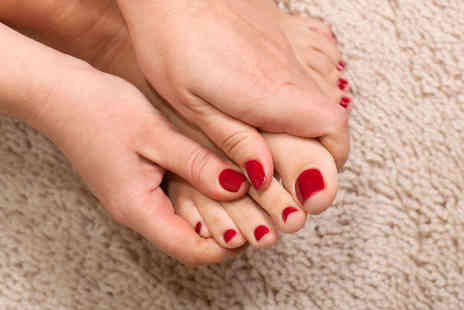 Nice Nails Baby - Manicure and Pedicure - Save 58%