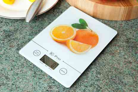 Garden Games - Ultra Slim Kitchen Scales - Save 81%