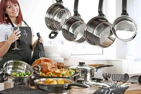 Irof Designs - 23 Piece Exclusive Hells Kitchen Collection - Save 60%
